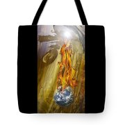 Quenching Fire Tote Bag
