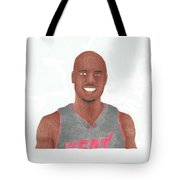 Quentin Richardson Tote Bag