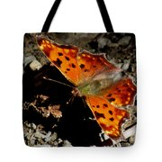 Question Mark Butterfly Tote Bag