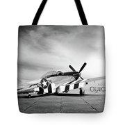 Quick Silver P-51 Tote Bag
