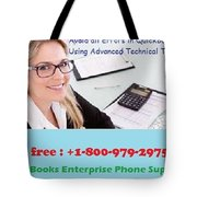 Quickbooks Enterprise Support To Help You Use A Flawless Accounting Program Tote Bag