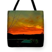 Quicksilver Sunset Tote Bag