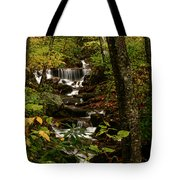 Quiet Autumn Stream Tote Bag