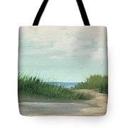 Quiet Beach Tote Bag