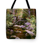 Quiet Brook Tote Bag