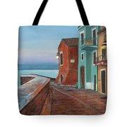 Quiet Sicilian Town Tote Bag
