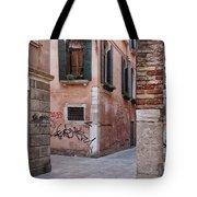 Quiet Corner In Venice Tote Bag