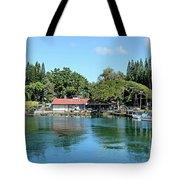 Quiet Day At Hilo Harbor Tote Bag