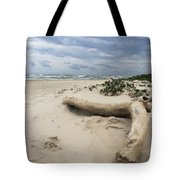 Quiet Day At The Beach Tote Bag