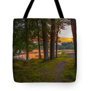 Quiet Evening, Pocono Tote Bag