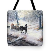 Quiet In The Woods Tote Bag