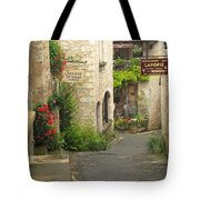 Quiet Lane In St Cirq I France Tote Bag
