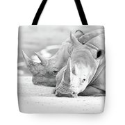 Rhino Quiet Moment Tote Bag