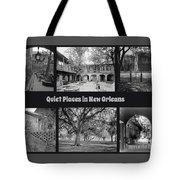 Quiet New Orleans Tote Bag