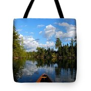 Quiet Paddle Tote Bag by Larry Ricker