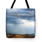 Quiet Rainbow Tote Bag
