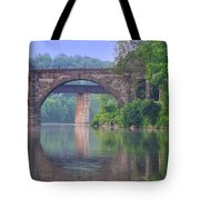 Quiet River Tote Bag by Bill Cannon