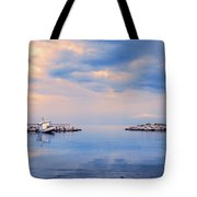 Quiet Sea Tote Bag