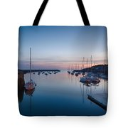 Quiet Solitude Rockport Harbor Tote Bag