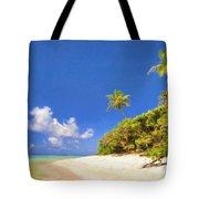 Quiet Tahiti Beach Tote Bag
