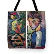 Quiet Time Carter Tote Bag