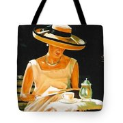 Quiet Time Tote Bag