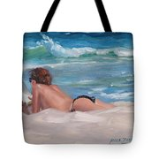 Quiet Time Two Tote Bag