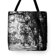 Quiet Walk Tote Bag