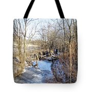 Quiet Winter Morning  Tote Bag
