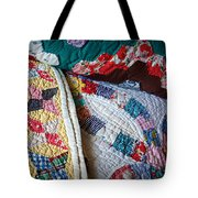 Quilted Comfort Tote Bag