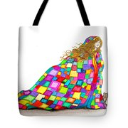 Quilted Dreams Tote Bag