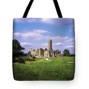 Quin Abbey, Quin, Co Clare, Ireland Tote Bag by The Irish Image Collection