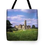 Quin Abbey, Quin, Co Clare, Ireland Tote Bag