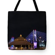 Quincy Bay View At Night Tote Bag