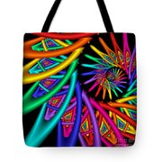 Quite In Different Colors -4- Tote Bag