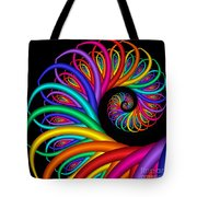 Quite In Different Colors -8- Tote Bag