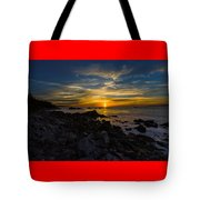 Quoddy Head State Park Sunrise Panorama Tote Bag