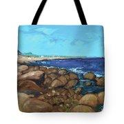 Quonocontaug West Beach Tote Bag