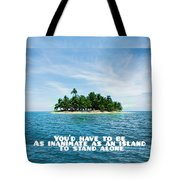 Quote1 Tote Bag