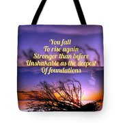 Quote4 Tote Bag