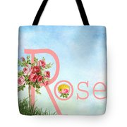 R For Rose Tote Bag