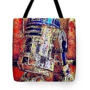 R2 - D2 Tote Bag by Al Matra