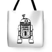 R2d2 Star Wars Robot Tote Bag by Edward Fielding
