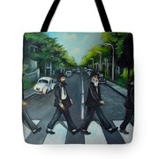 Rabbi Road Tote Bag
