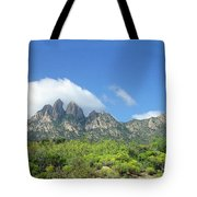 Organ Mountains Rabbit Ears Tote Bag