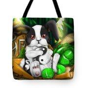Rabbit In Chinese Zodiac Tote Bag