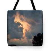 Rabbit In The Sky Tote Bag