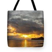 Rabbit Island Sunrise - Oahu Hawaii Tote Bag by Brian Harig