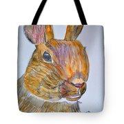 Rabbit Watercolor 15-01 Tote Bag