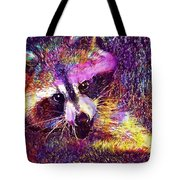Raccoon Animal Cute Mammal  Tote Bag